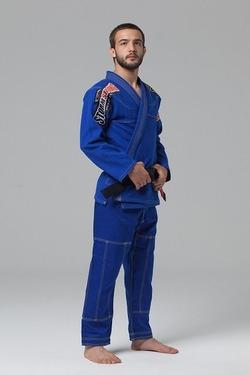 Kimono Serie Limitada Azul 2