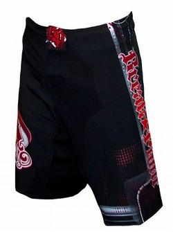 Progression BlackRed Shorts 1