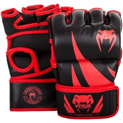 Challenger MMA Gloves blackred Without Thumb 1