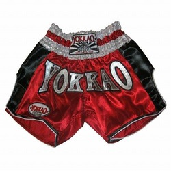 Red Carbon Muay Thai Shorts1