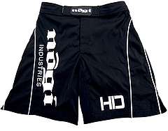 Shorts HD MMA Black Front