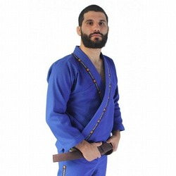 Kimono KING Jiu Jitsu Azul1