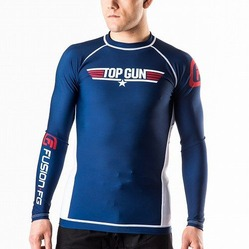 Top Gun Classic Rash Guard navy 1