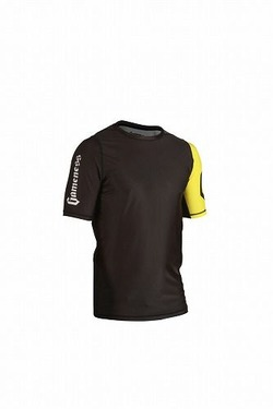 Grapple Rash Guard Black & Yellow  3