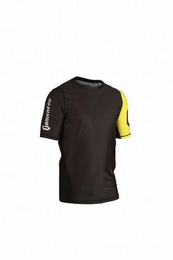 Grapple Rash Guard Black & Yellow  3
