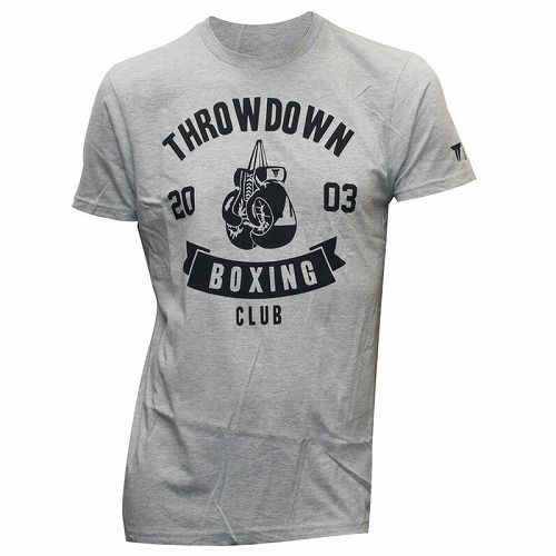 Throwdown Boxing Club T-Shirt gray1