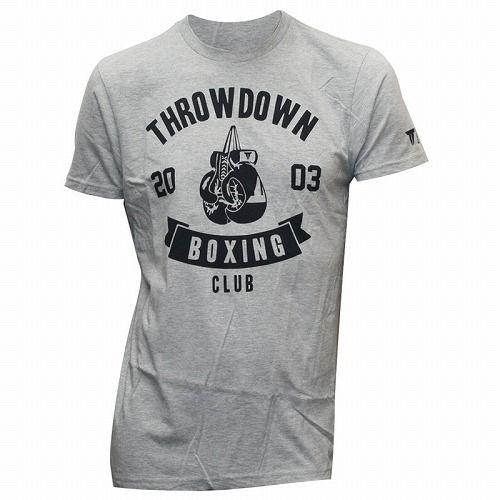 Throwdown Boxing Club T-Shirt gray1
