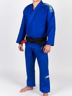CAMO BJJ GI blue 1