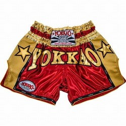 YOKKAO Vintage Carbon Shorts RedGold 1