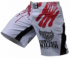 Stained Shorts White1