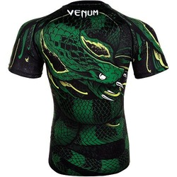 Green Viper Rashguard SS BlackGreen 2