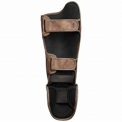 T3 Kanpeki Striking Shin Guards brown 2