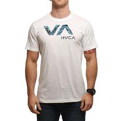 RVCA TROPIC DOOM TEE WHITE 1
