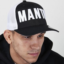 trucker cap EAZY black white1