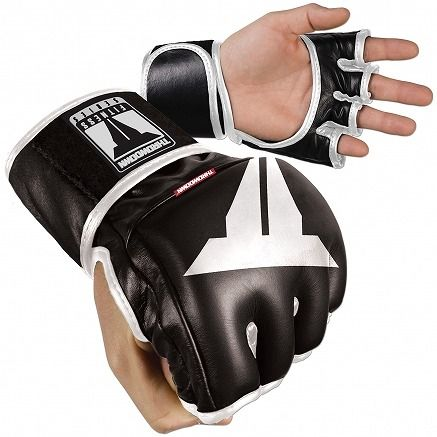 Throwdown Traditional MMA Gloves 1