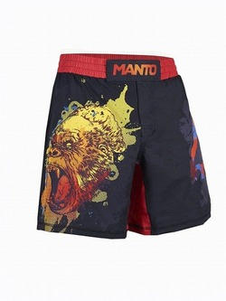 fight shorts GORILLA black 1