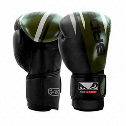 Pro Series Advanced Boxing Gloves blackgreen1