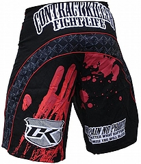 Stained Shorts Black2