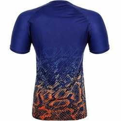 Tropical Tshirt Dry Tech Blueorange 3