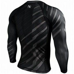 Metaru Charged Longsleeve Rash Guard blackgrey 2