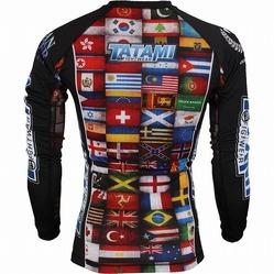Dean Lister Flags Rash Guard2