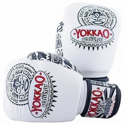 Maui White Boxing Gloves1