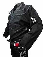 RE FIGHT 柔術衣 トライバル 黒