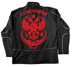 CLINCH GEAR トラックジャケット ヒョードル 黒