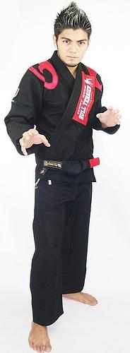 ブルテリア 柔術衣 フレア 黒