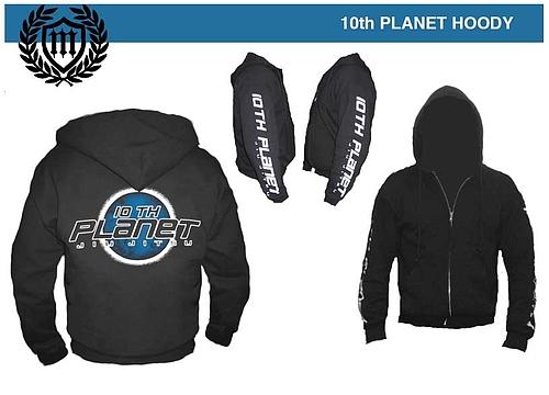 10th Planet シップパーカー 黒
