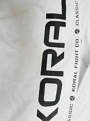 KORAL 柔術衣 New Classic 白
