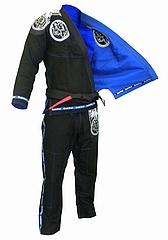Jiu-Jitsu Gi  RVRSL Black Blue1