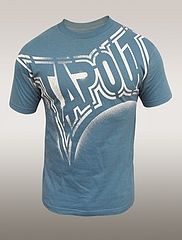 TAPOUT Tシャツ Tagged 水色