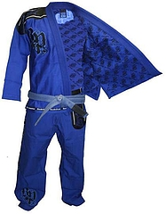 JiuJitsu GI Light Weight Deluxe Blue4