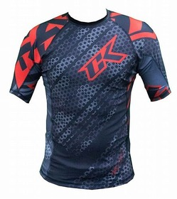 Droid red rashguard 3