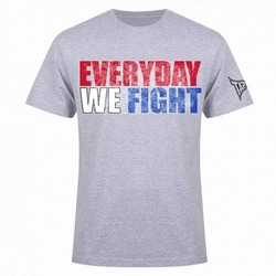 TapouT Everyday We Fight T-Shirt [Heather Grey]