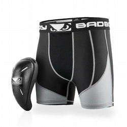 Full Guard Compression Short Cup black 1