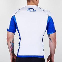 short sleeve rashguard LAVA white2