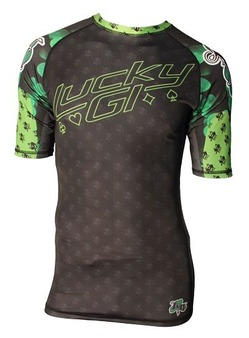 NEW Lucky Gi Shamrock Rash Guard 1