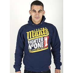 Hoodie Parka Fighter Navy1