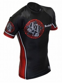 Elite Rash Guard Red1