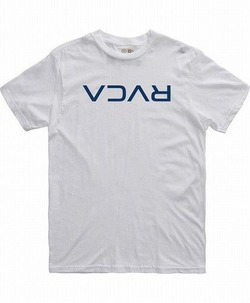 FLIPPED RVCA T-SHIRT wht 1