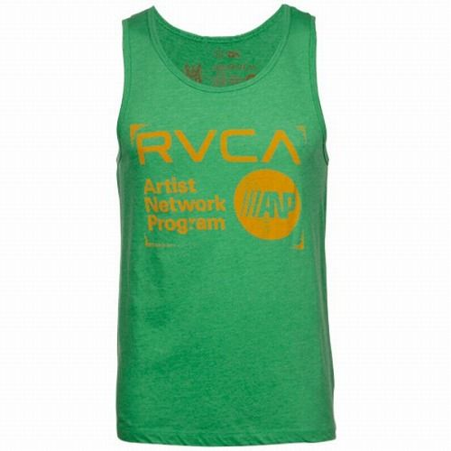 Stamp Tank Top Green1