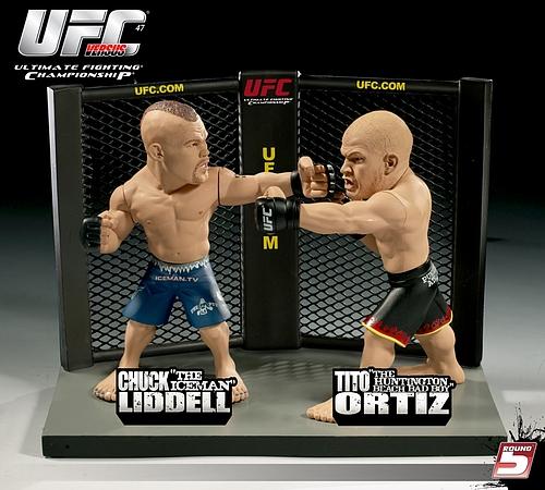 UFCフィギュア チャック・リデルVSティト・オーティス