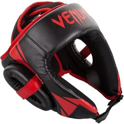 Challenger Open Face Headgear blackred 1