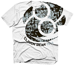 CLINCH GEAR Tシャツ Bold 白