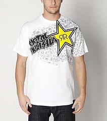 Tshirt-Rockstar Membrane White 1