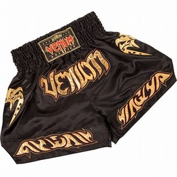 Short de Boxe Thai Venum Tribal BK1