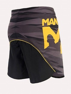 fight shorts DUAL black 2