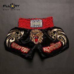 muay thai red black 3